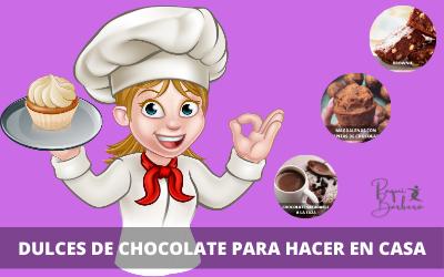 Dulces de Chocolate para Hacer en Casa