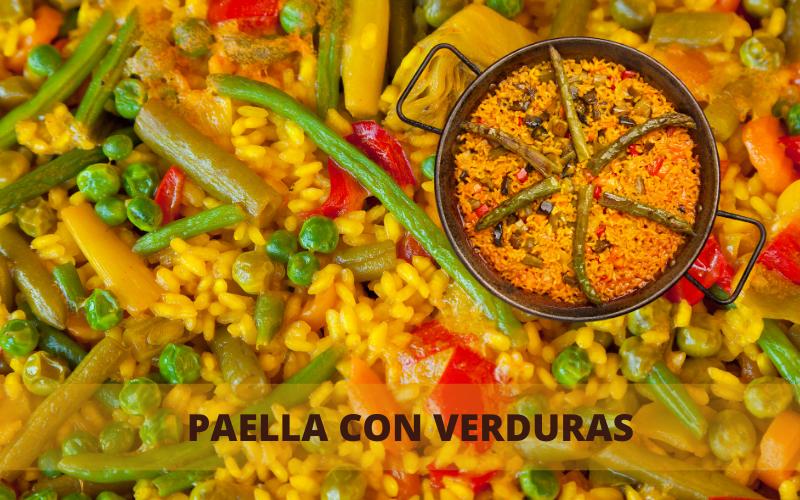 PAELLA CON VERDURAS